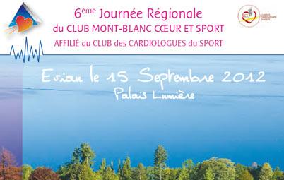 6ème journée régionale du Club Mont-Blanc cœur et Sport